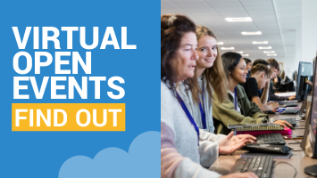 Find out more about our virtual open events