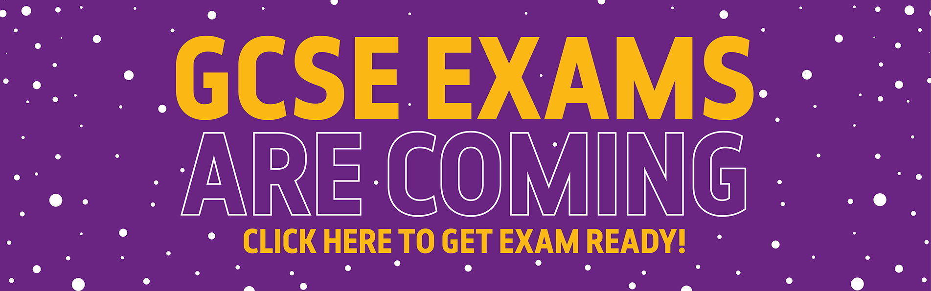 Get help preparing for your GCSE exams