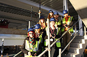Photography students capture the construction of college new build