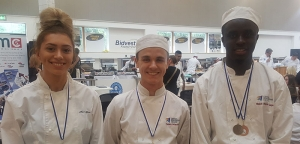Students Cook for Success at Central Bedfordshire College