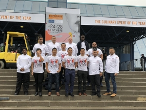 CBC Chefs bring home the Gold in the Villeroy and Boch Culinary World Cup in Luxembourg!