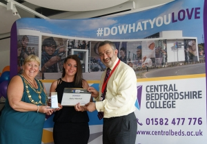 Celebration of student success at Central Bedfordshire College