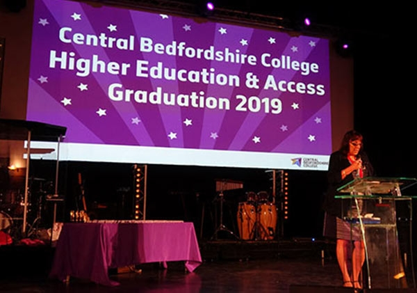 Central Bedfordshire College celebrates class of 2019 graduates!